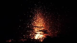 New Kilauea Lava Now Erupting In Lower Puna