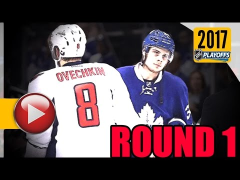 NHL Mic'd Up - 2017 NHL Stanley Cup Playoffs. Round 1. (HD)