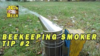 Extinguishing & Recycling Beekeeping Smoker Fuel