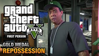 GTA 5 - Mission #2 - Repossession [First Person Gold Medal Guide - PS4]