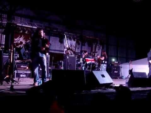 Saurom en Costa Rica 24 de Noviembre Festival Siembra y Lucha 2012