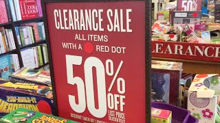 50% OFF Clearance SALE at BARNES & NOBLE!