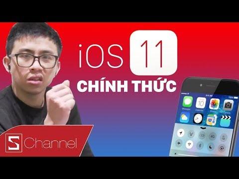 iOS 11 CHÍNH THỨC - Khám phá loạt TÍNH NĂNG MỚI cùng Tân Một Cú