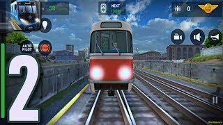 Subway Simulator 3D Update | #New train  Tatra T3 | Android GamePlay | HD 2018 | #part2