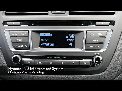 Infotainmentcheck Hyundai i20