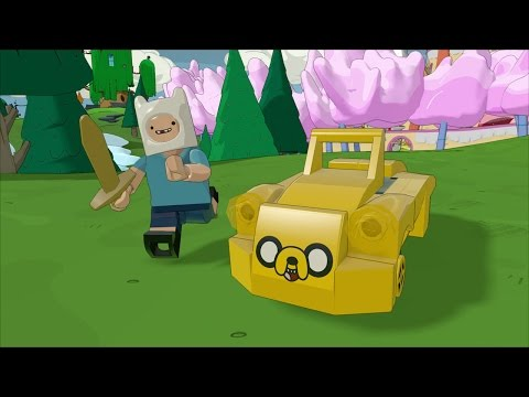 Lego Dimensions Adventure Time Free Roam Gameplay Part 2