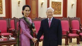 Tin Thời Sự Hôm Nay (18h30- 20/4): Tổng Bí Thư Nguyễn Phú Trọng Tiếp Cố Vấn Myanmar Aung San Suu Kyi