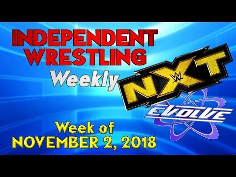 NXT Invades EVOLVE! | Independent Wrestling Weekly (Week of November 2, 2018)
