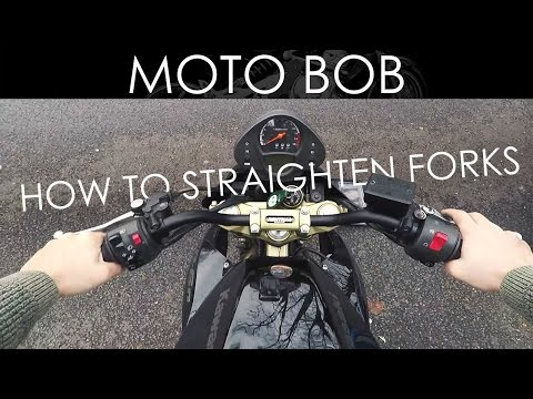 Motorcycle Fork & Handlebar Alignment: How To Straighten