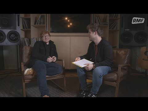 Ed Sheeran - exclusive interview for RMF FM [ENG]