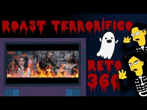 ADIVINA EL ROAST TERRORÍFICO 🎃 | YOUTUBERS EN LOS SIMPSON (RETO 360)