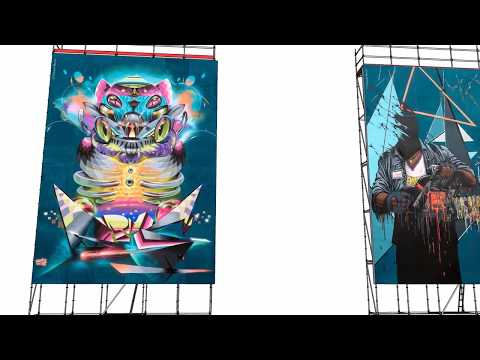 Meeting Of Styles France 2017 - Exposition 3D