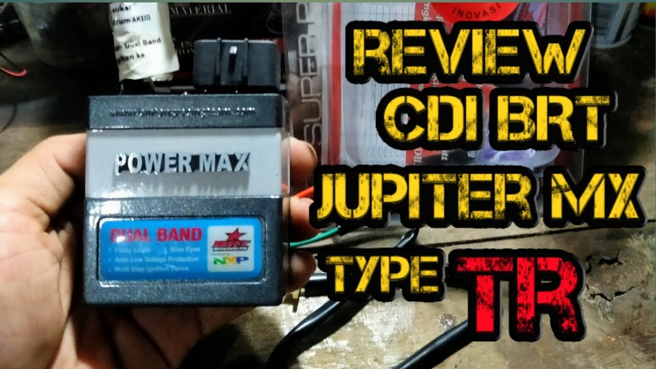 Review Cdi Brt Jupiter Mx Powermax Dual Band
