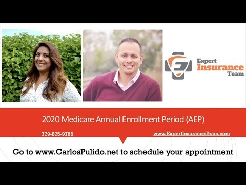 2020 Medicare Annual Enrollment Period