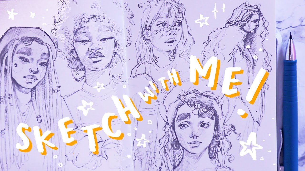 Sketch with me how to feel good about your art