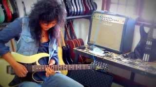 Belajar Improvisasi Melodi Guitar Bersama Giwe Exentrix