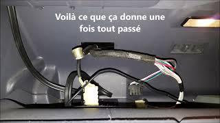 Comment enlever l'auditorium et ajouter un autoradio dans Renault Espace 3