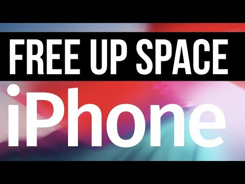 How to Free Up Space on your iPhone XS, iPhone 8, iPhone 7, iPhone 6, iPhone 5S
