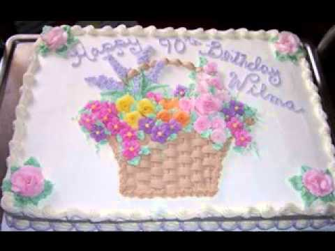 Sheet cake decorating ideas - YouTube
