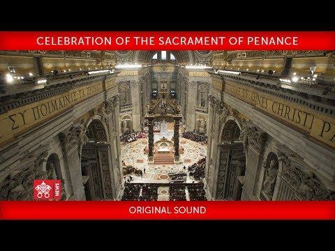 Pope Francis - Celebration of the Sacrament of Penance 2018-03-09