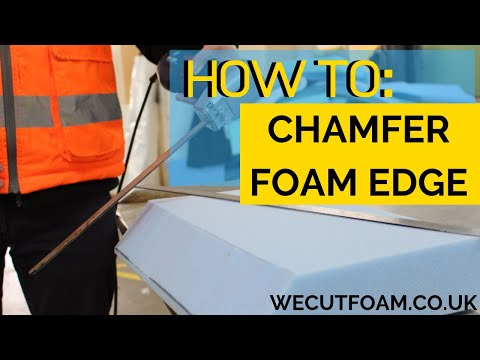 how-to-cut-foam-on-a-chamfer-/-angle-(boat-mattress)