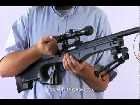 Airsoft Mega Store Review! - AGM Full Metal Bolt Action Sniper Rifle Airsoft Review