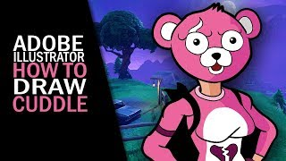 Fortnite | How to draw cuddle team leader