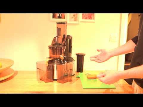 Slow Juicer For Ginger : My JR Ultra 8000 Whole Slow Juicer Review making Carrot and Ginger Juice - YouTube
