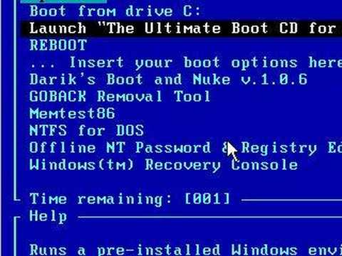 "Recover Your System With Free Tools - ""Ultimate Boot CD"""