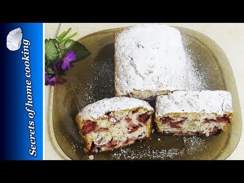 Strawberry Poppy seed cake recipe