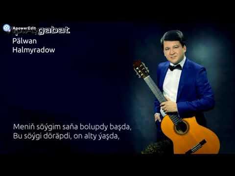 Palwan Halmyradow (sözleri bilen) gitara aydymlar toplymy