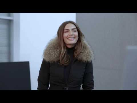 Behind the scenes Danier Winter 2015 campaign