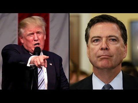 Trump to Comey: You're fired!