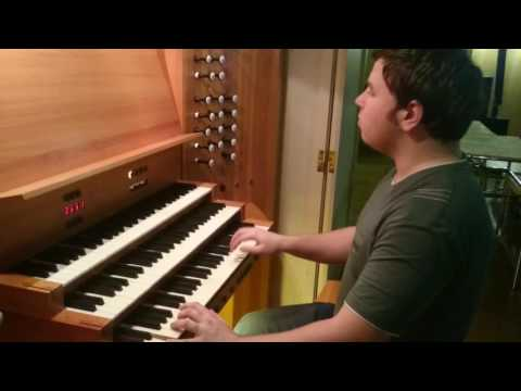 Бальбатр, Клод - Фуга для органа
