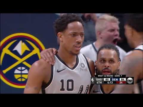 San Antonio Spurs vs Denver Nuggets : April 27, 2019