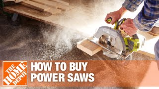 How To Buy Power Saws - The Home Depot