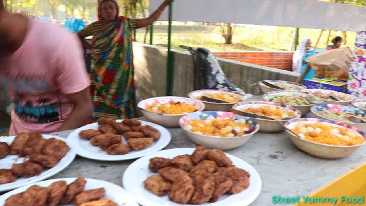 bengali biggest special picnic party 100 people tasty food cooking