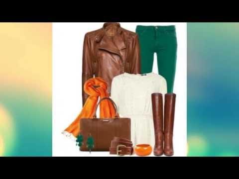 С чем носить коричневые сапоги / What to wear brown boots