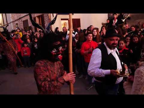Ball dels dimonis de Sant Llorenç. Sant Antoni 2018
