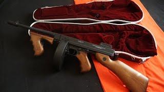Tommy Gun/Violin Case Mobster Prop