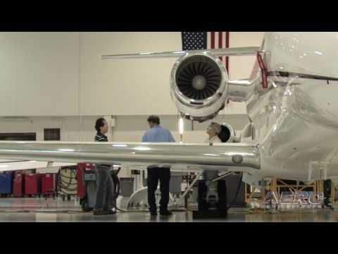 Aero-TV:  Citation Service Center - Maintaining Performance for Cessna Jets