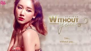 Hari Won (Châu Đăng Khoa) - Without You - MV lyric