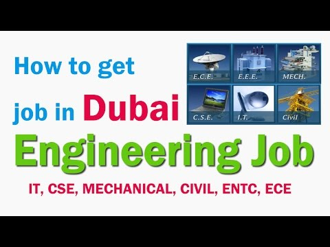 ENGINEERING JOB IN DUBAI | HOW TO GET JOB IN DUBAI | HINDI URDU PART 17