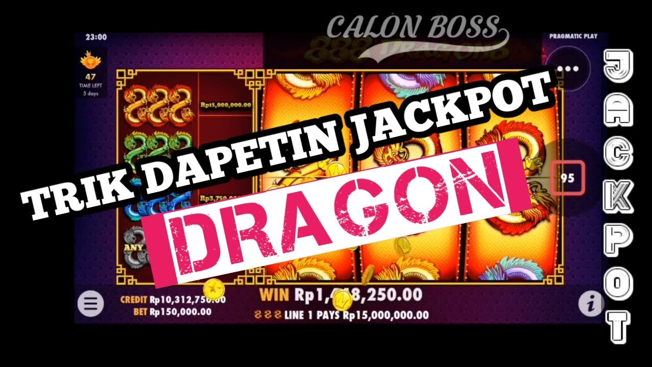 Cara dapet JACKPOT DRAGON || SLOT GACOR HARI INI || gameslot2021