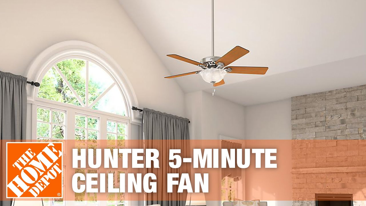 Hunter 5 Minute Ceiling Fan Youtube How To Replace A Speed Switch Remove Premium