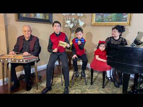"Hugo Blanco ""Moliendo Cafe"" By Uzbek Music Instrument ""CHANG"""