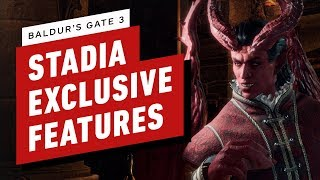 Baldur's Gate 3 Has Some Awesome Stadia-Exclusive Features