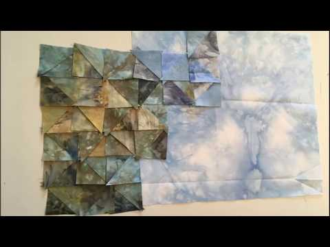 Thread Painting: Piecing the Background Process