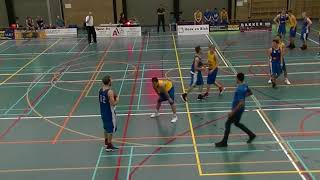 14 october 2017 Rivertrotters M22 vs Oegstgeest M22 40-61 3rd period