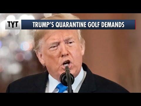 Trump DEMANDS $45K For Golf Carts